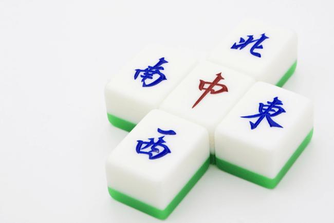麻雀牌、漢字の字牌