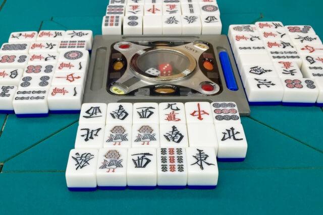 麻雀,捨て牌